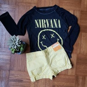 Gymboree bubble shorts w/shirt